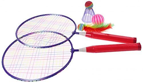 Badmintonset Outdoor Fun 5 Stück