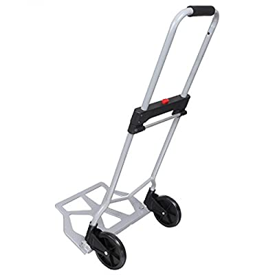 Portable Folding Hand Truck Dolly Luggage Carts, Multi-function Folding Trolley, Large Capacity, Industrial/Travel/Shopping