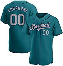 Custom Baseball Jersey Made Team Personalized Mesh Design Team&Name&Number for Men/Women/Youth