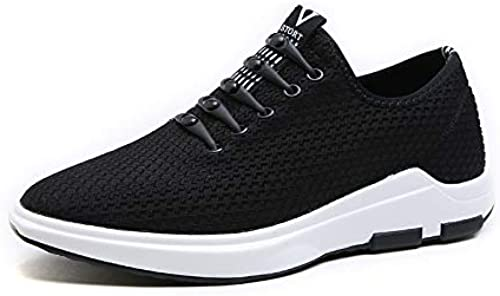 LOVDRAM Chaussures Hommes, Chaussures Hommes, Chaussures De Mode, Nouvelles Chaussures De Sport, Fond épais, Maille Polyvalente, Flying Woven, Chaussures De Course à Pied, Jeunes Hommes