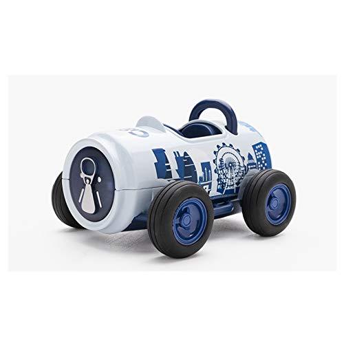 MUMUJIN Sencillez Pull Back Car Toy Car Care Aleación Educativa Modelo De Automóviles 2/3/4/5/6 Año Niño Niño 9.5x8x6cm (Color : Blue)