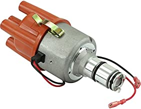 Dragon Fire High Performance Race Series Complete Electronic Ignition Distributor Compatible Replacement For 1960-1984 Porsche and Volkswagen VW With Bosch 009 With Out Vacuum Oem Fit D009E-DF