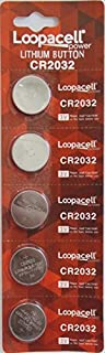 Loopacell 2032 Battery CR2032 Lithium 3v ( 1 Pack Of 5 )