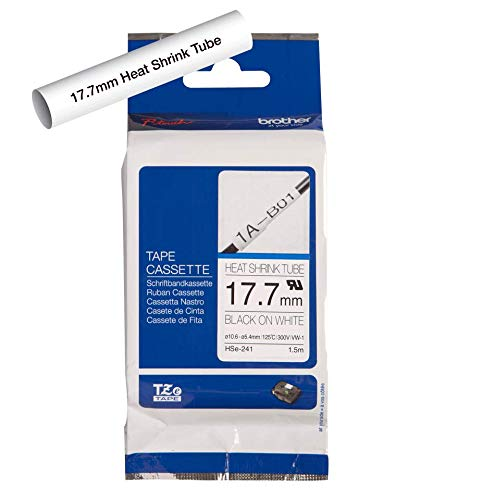 BROTHER Rubans thermo retractable, 1,7mm de large, 1.5m de long (pour cables de 5.4 a 10.6mm de diametre)