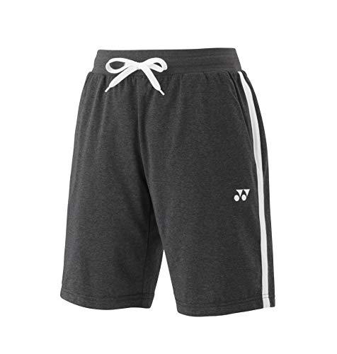 YONEX, Sweat Shorts YM0015, dunkelgrau - dunkelgrau, M