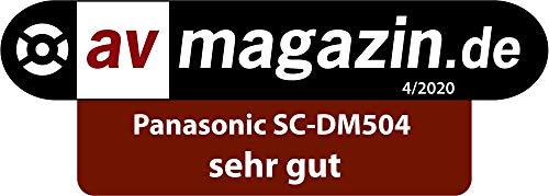 Panasonic SC-DM504EG-K Micro HiFi in schwarz (40 Watt RMS, Digital DAB+, CD, UKW, Bluetooth, USB, AUX)