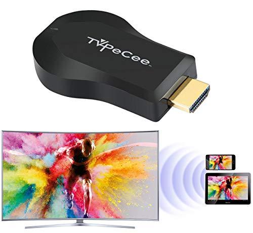 TVPeCee HDMI Dongle: WLAN-HDMI-Stick für Miracast, Mirroring, AirPlay, Chromecast und DLNA (WLAN TV Stick)