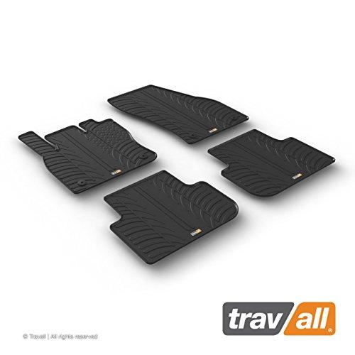 Travall Mats Gummifußmatten Kompatibel Mit Volkswagen Tiguan (Ab 2016) TRM1283 - Allwettermatten Nach Maß Fussmatten Set