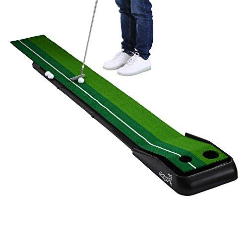 Indoor Golf Putting Practice Mat,Balight Putting Green Portable Outdoor Golf Auto Ball Return...