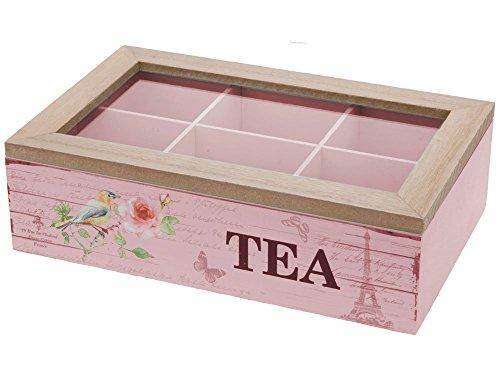 Teeboxen Rosa Holz