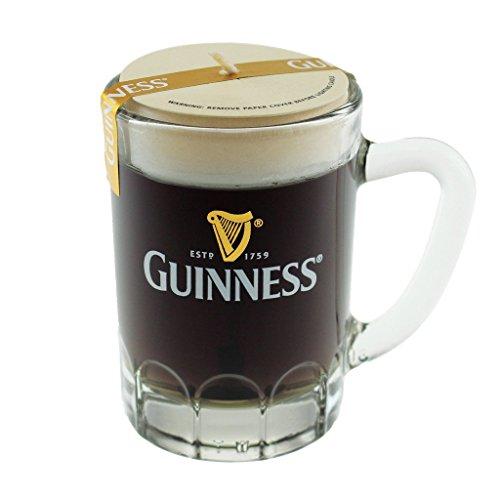 Guinness - Boccale da birra con candela