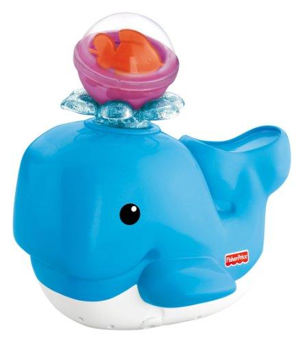 Fisher-Price Jouet de Bain Baleine et Ses Amis