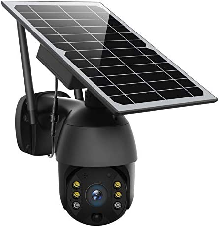 Solar Powered Wireless Security Camera Outdoor ENSTER Pan Tilt WiFi Home Smart Cam Waterproof product image