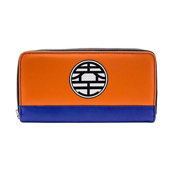41Z7+W7kMQL. SS600  - Cartera de Dragon Ball Z Kame simbolos Naranja