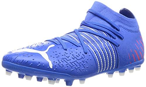 Puma Future Z 3.2 MG, Zapatillas de fútbol Hombre, Bluemazing-Sunblaze, 39 EU