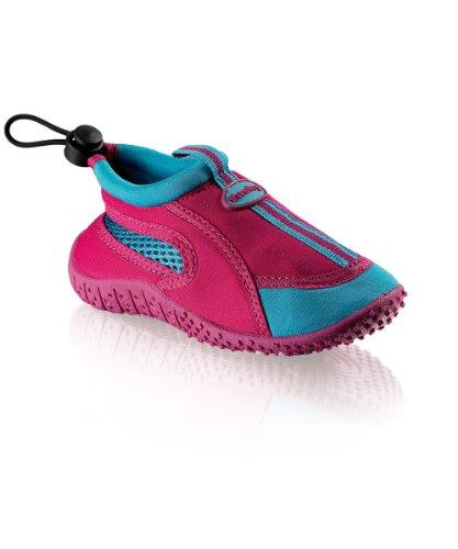 Fashy Kinder Outdoor Aqua-Schuh Guamo mit Kordelzug, Fuchsia/hellblau, Größe 29