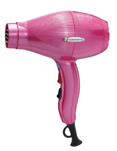 Gamma Piu E-Tc Light - Secador 2100W, color rosa
