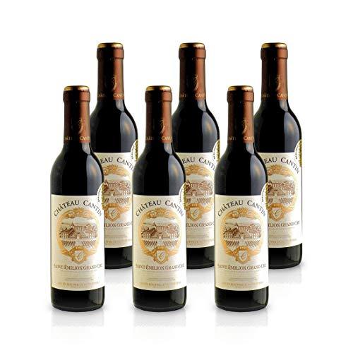 2014 Château Cantin -St. Emilion Grand Cru AOP Bordeaux - Demi (6x 0,375L)