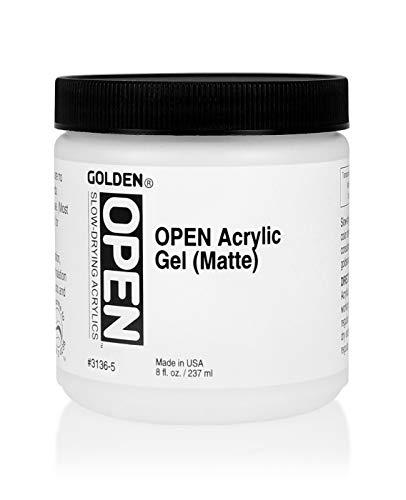 DS - Golden - GAC GEL 237ml OPEN Acrylic Gel Matte - 5003136-5