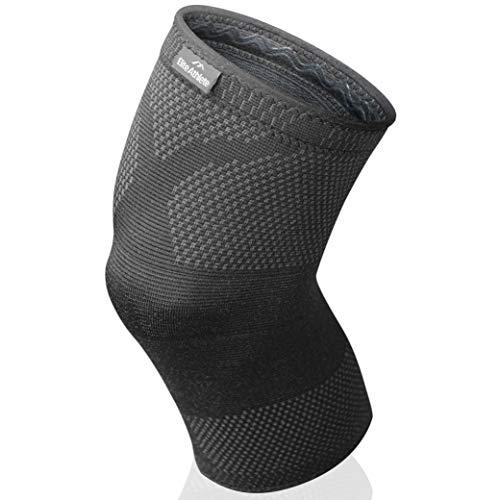 EliteAthlete Kniebandage - Premium Kompressionsbandage - Bandage für Sport, Fitness, Alltag - Männer & Frauen - rutschfeste Kniebandagen für Damen & Herren