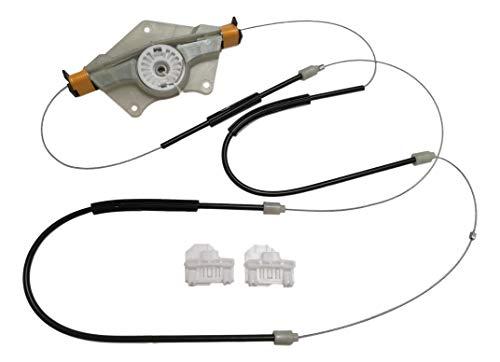 Twowinds - Kit reparación elevalunas Delantero Izquierdo PASSAT B5 1998-2005 SUPERB 2002-2008