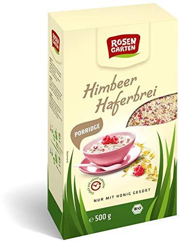 Rosengarten Bio Porridge Himbeer-Haferbrei (2 x 500 gr)
