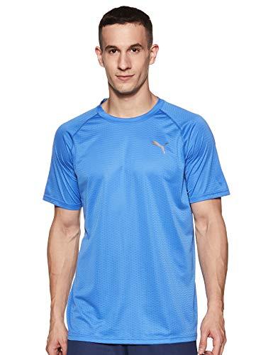 PUMA Herren T-Shirt SS Tech Tee, Palace Blue, XL, 518389