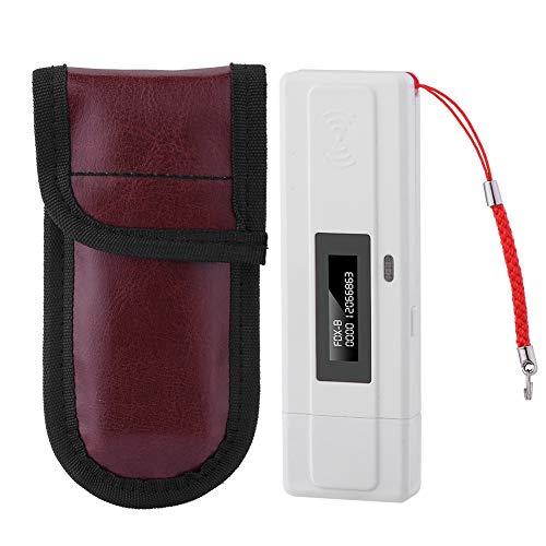 Tangxi Pet Microchip Scanner Portable, Haustier Mikrochip Lesegerät RFID 134.2Khz, USB Aufladungs Haustier ID Pet Scanner mit OLED Anzeige für die Tierverfolgung
