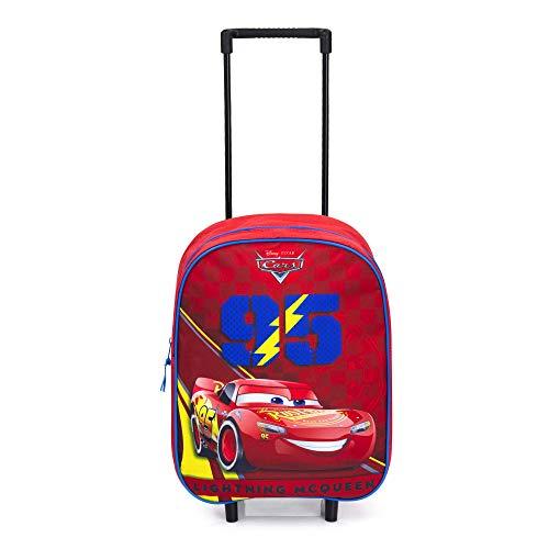 Disney Cars Kindertrolley - Lightning McQueen - Rot
