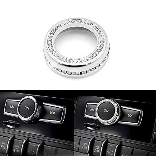Thor-Ind Bling-Kristall-Audio-Regler, für Mercedes-Benz A B C CLA CLS CLK GLA GLC GLE GL SL Klasse