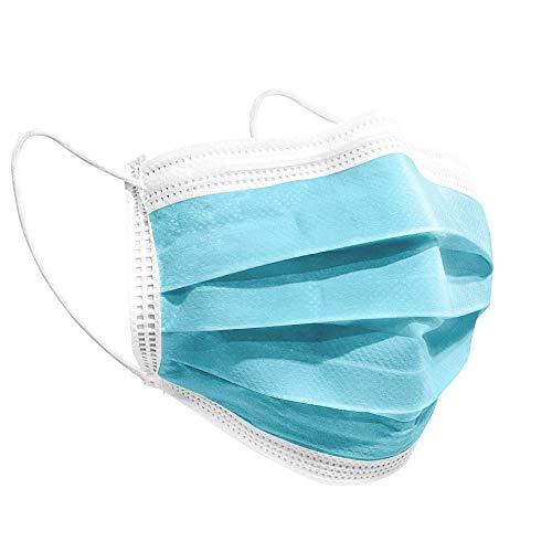 iCOOLIO medizinische op - Masken ce Zertifiziert, EN 14683 Typ IIR - BFE ≥ 95% medizinischer masken mundschutz, mund und nasenschutz, einwegmasken, schutzmasken, Gesichtsmaske, einweg maske 50 Stück