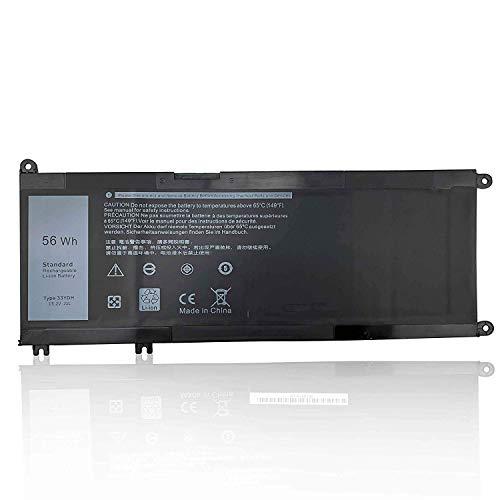 ASKC 56Wh 33YDH Laptop Batería para Dell Inspiron 15 7577 17 7000 7773 7778 7786 7779 2in1 G3 15 3579 17 3779 G5 15 5587 G7 15 7588 Latitude 13 3380 14 3490 15 3580 3590 Vostro 7570 7580