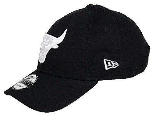 New Era Chicago Bulls 9forty Adjustable Cap League Essential Black - One-Size