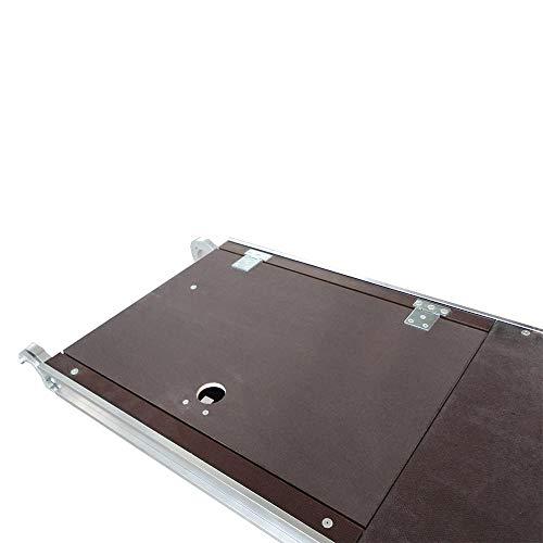 Alumexx Plattform 190 - Mit Luke - Plattform - Rollgerüst - Zubehör - AS - FS - Gerüstteile - Gerüst -Zubehör