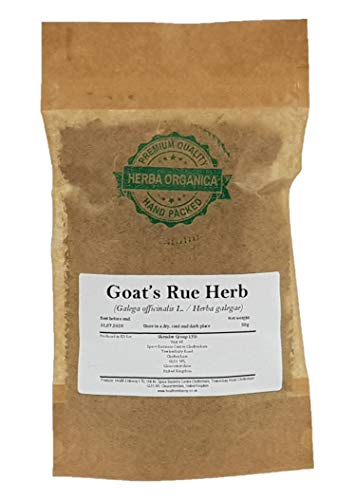 Herba Organica - Goat's Rue Herb - Galega L - Galega, French Lilac, Goat's-rue, Italian Fitch, Professor-Weed (50g)