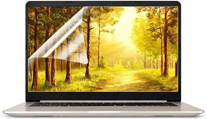 Saco Ultra Clear Glossy Screen Guard Scratch Protector Compatible for Dell Inspiron 5410 (D560477WIN9S) Core i5 11th Gen Windows 10 Home 2-in-1 Laptop
