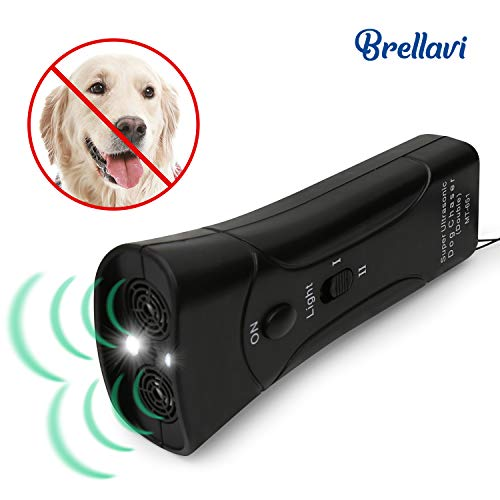Dog Repellent and Trainer, Dog Repellent Device with LED Flashlight, Dogs Good Behavior Training, Safe to Walk The Dog Outdoor, Best Handheld Dog Repellent and Trainer