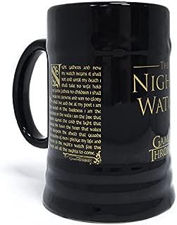 Game Of Thrones Night`s Watch Stein Mug