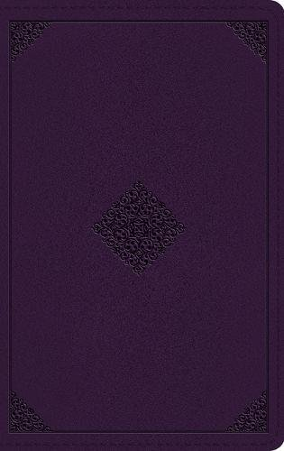 ESV Thinline Bible (TruTone, Lavender, Ornament Design)