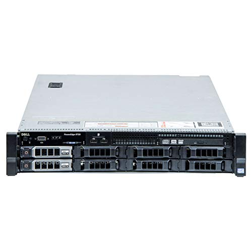 DELL POWEREDGE R720 x Rendering. 8X LFF 2X Xeon 8Core, Scheda Video Nvidia K620, RAM 64GB, SSD 2x500GB, Raid Ctrl, Rack 2U, 2X PSU. Win Server Std 2019(Ricondizionato Certificato)