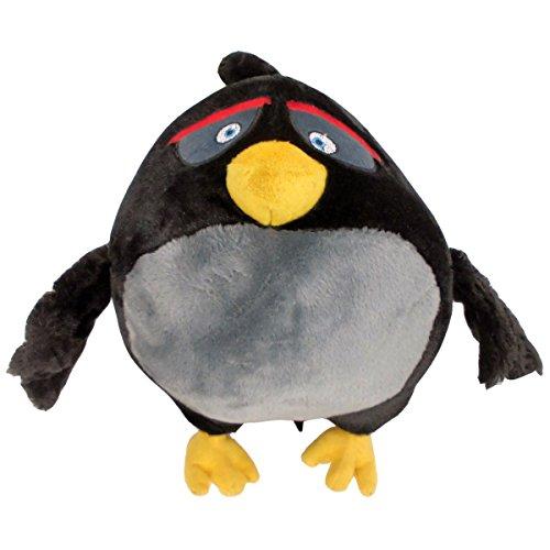 Marabella Angry Birds Bomb Plüschfigur Plüsch Kuscheltier Puppe Stofftier Teddy 30cm