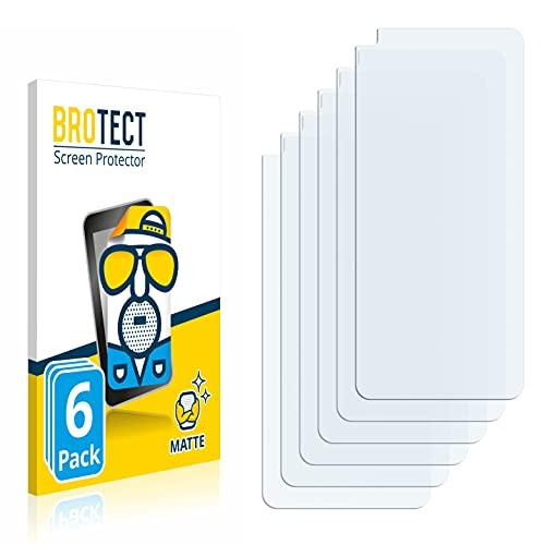 BROTECT 6X Entspiegelungs-Schutzfolie kompatibel mit OnePlus Nord CE 5G Bildschirmschutz-Folie Matt, Anti-Reflex, Anti-Fingerprint