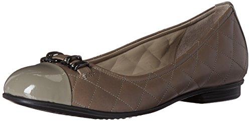 Ecco calzado para mujer Touch acolchada de la mujer bailarina ballet Flat,...