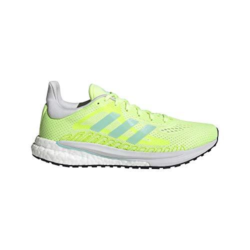 adidas Solar Glide 3 W, Zapatillas de Running Mujer, AMALRE/AGUCLA/TOQGRI, 39 1/3 EU
