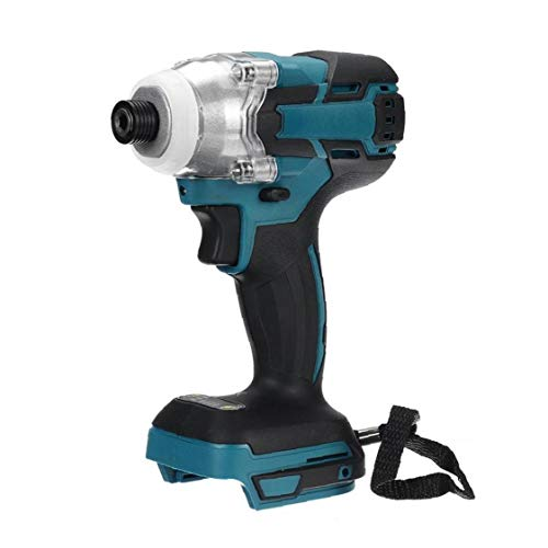 PiniceCore 18v Cordless Electric Screwdriver Speed Brushless Impact Rechargable Drill Driver Led Light for Makita Battery