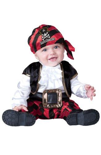 Cap N - navet (Pirate ) - Costume de déguisement pour enfants - de 6 à 12 mois