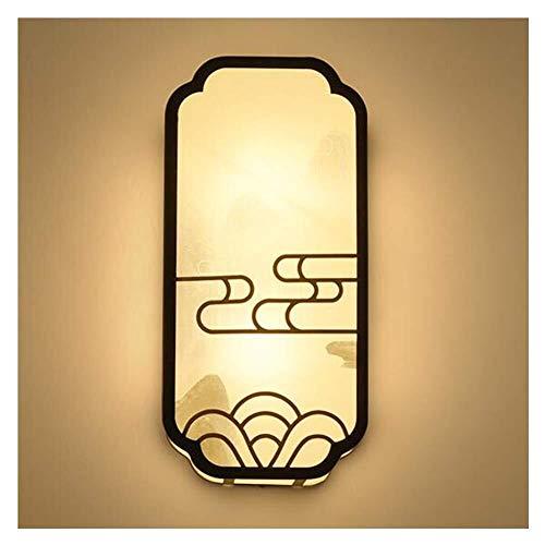 Llslls Nouvelle applique murale de style chinois , Applique moderne de simplicité Applique - fer art fond mur chambre lit tête LightAisle corridor créatif lampes de style chinois