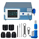 Shockwave Therapy Machine, Zinnor Extracorporeal ED Shock Wave Machine Portable with 5 Transmitter for Pain Relief Anti-Cellulite Treatment from US