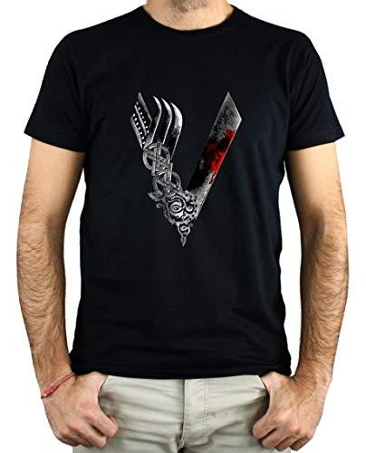 PLANETACAMISETA Camiseta Hombre - Unisex Vikingos