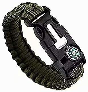 1pc Strand Supervivencia Militar pulsera de la cuerda de la ...